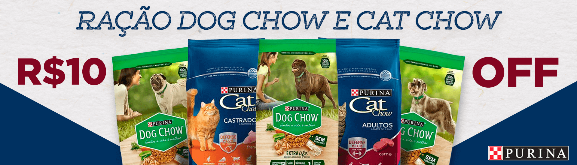 CatChow e DogChow