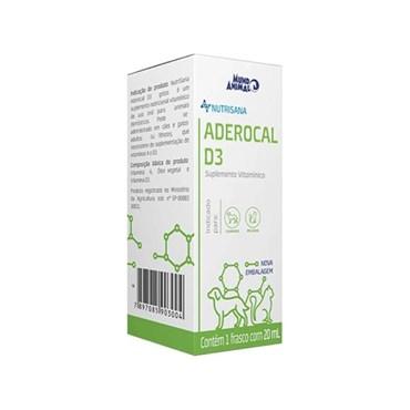 Aderocal D3 Suplemento Alimentar 20ml - Nutrisana