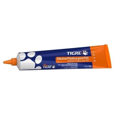 Adesivo Plástico para PVC 17g cor Azul Bisnaga TIGRE