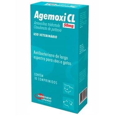 Agemoxi CL 50 mg - 10 Comprimidos