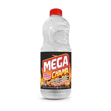 Álcool Gel Acendedor 80% 480g - Mega Química