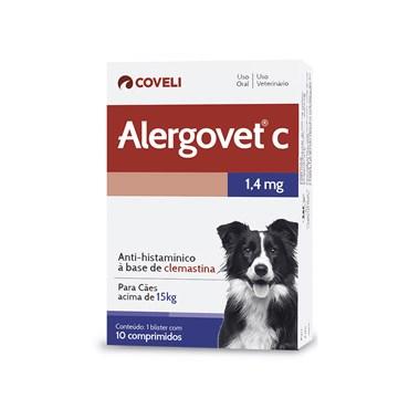 Alergovet 1,4mg - 10 Comprimidos