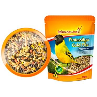 Alimento para Pintassilgo Gold Mix Premium 500g - REINO DAS AVES