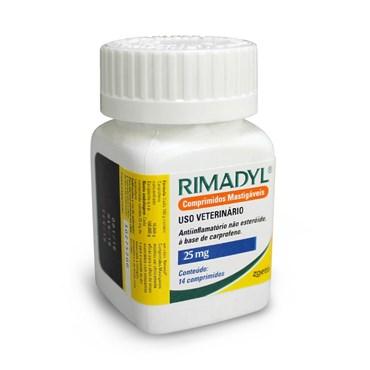 Anti-inflamatório Mastigável  Rimadyl 25mg com 14 Comprimidos - Zoetis