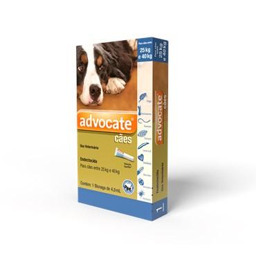 Antiparasitário Advocate Para Cães 25 a 40kg (4,0 ml)