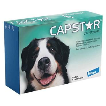 Antipulgas Capstar 57 Mg para Cães - 6 Comprimidos
