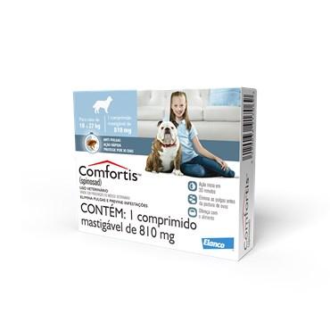 Antipulgas Comfortis Para Cães de 18 27 kg