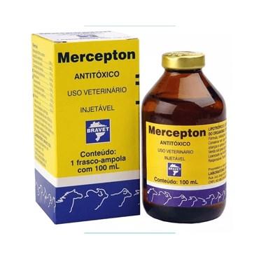 Antitóxico Mercepton Injetável Bravet de Uso Veterinário 100 ml