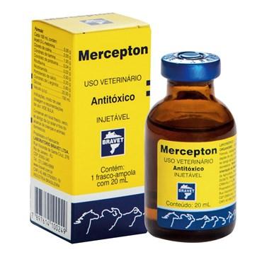 Antitóxico Mercepton Injetável de Uso Veterinário 20 ml