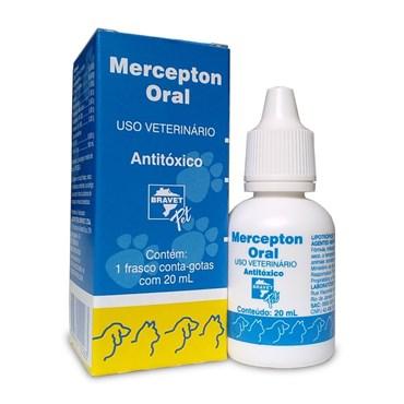 Antitóxico Mercepton Oral de Uso Veterinário 20ml