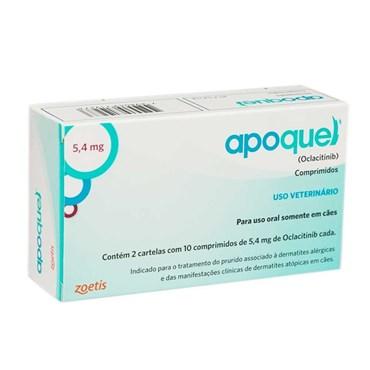 Apoquel Dermatológico 5,4 Mg Cães - 20 Tablets