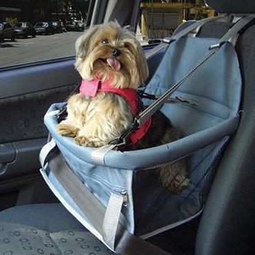 Assento Transpet Para Transporte de Cães e Gatos Rosa e Azul - Tubline