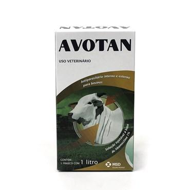 Avotan Antiparasitário Interno e Externo para Bovinos 1 litro - MSD Saúde Animal
