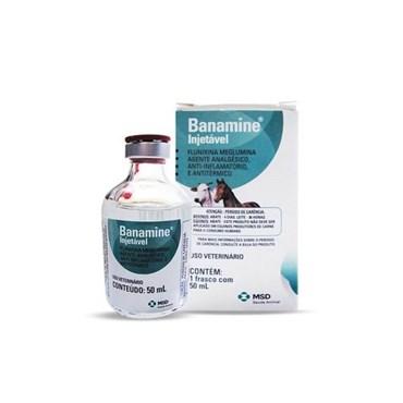 Banamine Analgésico Injetável 50ml - MSD