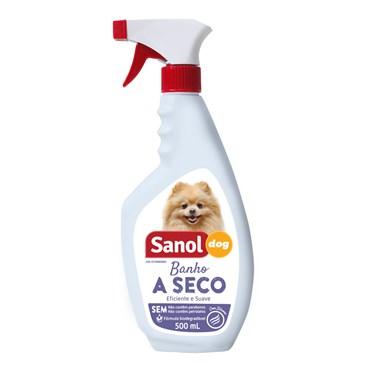 Banho a Seco Sanol para Cães 500ml