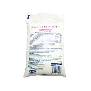 Barrilha Leve pH + 2kg - Arpoli