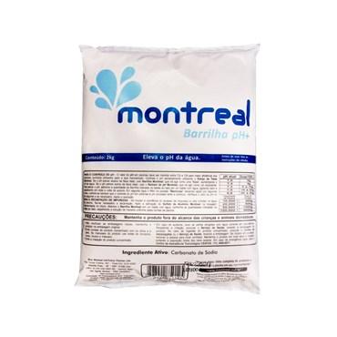 Barrilha pH+ Elevador de pH Para Piscinas 2kg - Montreal