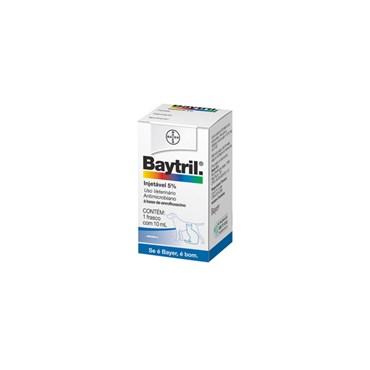 Baytril Injetável 5% com 10 ml - Bayer