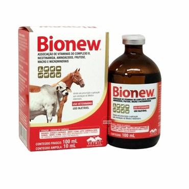 Bionew Complexo Vitamínico Vetnil Uso Veterinário 100 ml