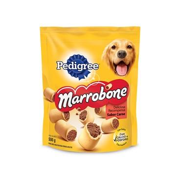 Biscrok Pedigree Marrobone Biscoitos para Cães Adultos Sabor Carne 500g