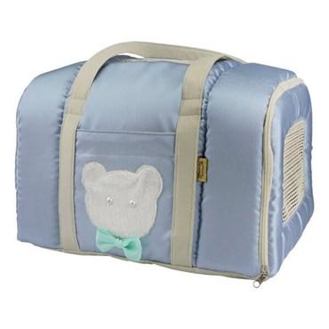 Bolsa Transporte Candy Azul - Bonito pra Cachorro
