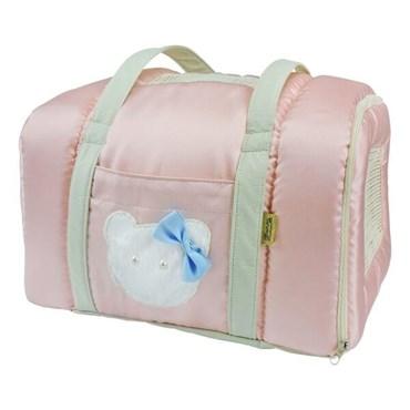 Bolsa Transporte Candy Rosa - Bonito pra Cachorro