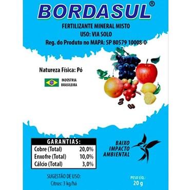 Bordasul Fertilizante Mineral Misto 20g