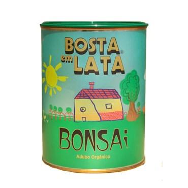 Bosta Em Lata - Fertilizante Orgânico Para Bonsai 500g