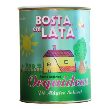 Bosta Em Lata - Fertilizante Orgânico Para Orquideas 400g