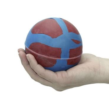 Brinquedo Bola Super Big Maciça de Borracha para Cães e Gatos - LCM