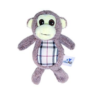 Brinquedo de Pelúcia Macaco CD Xadrez N.2 - Home Pet