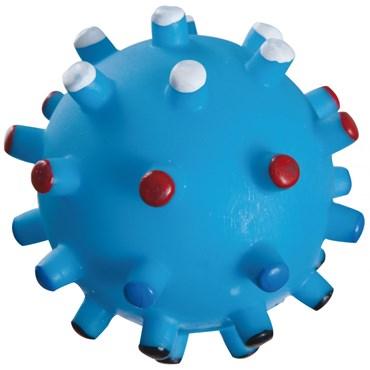 Brinquedo de Vinil Bola Espinho Azul 7,5cm - Home Pet
