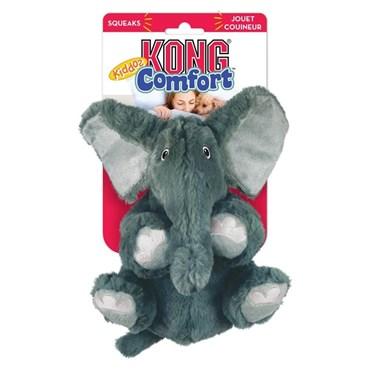 Brinquedo Kong Comfort Kiddos Elephant Pelúcia
