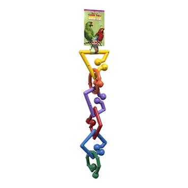 Brinquedo Para Pássaros Médios e Grandes (Arara, Papagaio)