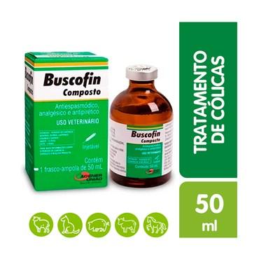 Buscofin Composto Injetável Uso Veterinário 50 ml