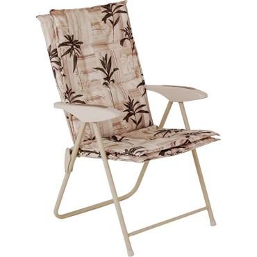 Cadeira Kairos Floral - Mor