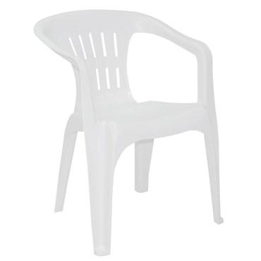 Cadeira/Poltrona Atalaia em Polipropileno Branco - Tramontina