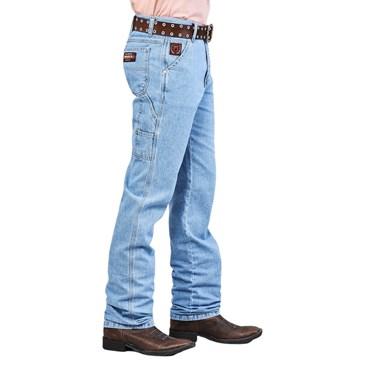 Calça Jeans Docks Masculina Basic Carpinteira Delavê Ref. 1008