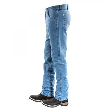 Calça Jeans Masculina Básica/Tradicional Com Elastano 1407 - Dock's Western