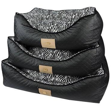 Cama Animal Print Zebra M - Bonito pra Cachorro