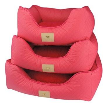 Cama Elegance Basic Pink M - Bonito pra Cachorro