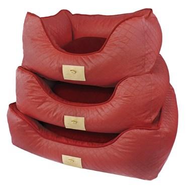 Cama Elegance Basic Vermelho G - Bonito pra Cachorro