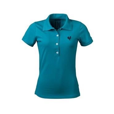 Camisa Polo Feminina Turquesa - Made In Mato