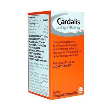 Cardalis 5-40mg para Cães de 11 a 20kg - 30 Comprimidos - Ceva