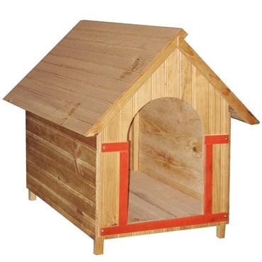 Casinha de Pinus Pra Cães Número 02 - Mokoi