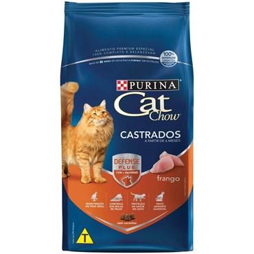 Cat Chow Gatos Castrados Sabor Frango 10,1kg