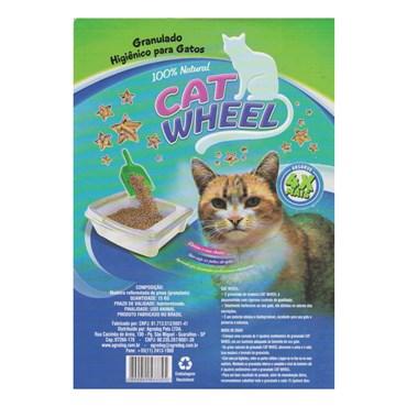 Cat Wheel Granulado de Madeira Para Gatos e Roedores 2kg