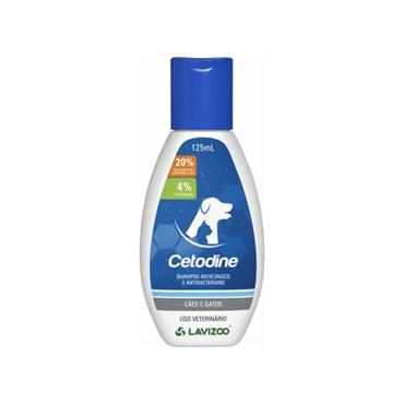 Cetodine Shampoo Cães e Gatos 125ml - Lavizoo