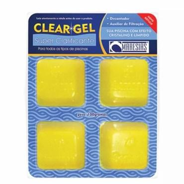 Clear Gel Super Clarificante Auxiliar de Filtração Para Piscinas 100g