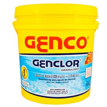 Cloro Granulado Estabilizado Genclor 10kg - Genco